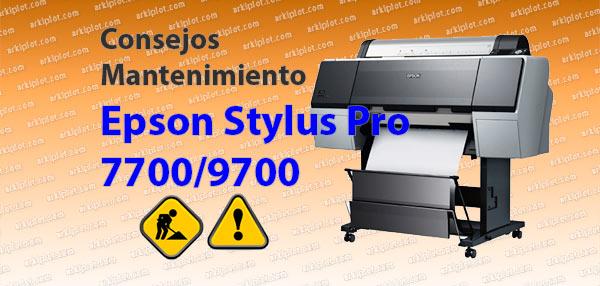 Error Codes > Epson > Stylus Pro 3880 > Code 1400
