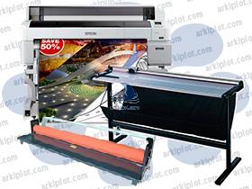 Pack especial Epson SC-T7200 + cortadora + laminadora