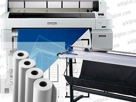 Epson SC-T5200 Pack especial CAD + cortadora + papel