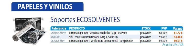 soportes ecosolventes