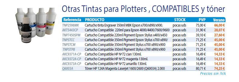 tintas compatibles